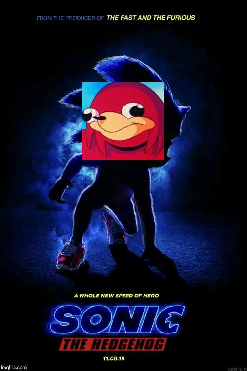 Sonic Movie Teaser Poster | image tagged in sonic movie teaser poster | made w/ Imgflip meme maker