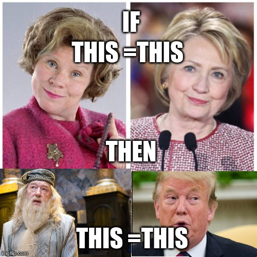 Delores Umbridge Harry Potter | THIS =THIS THEN IF THIS =THIS | image tagged in delores umbridge harry potter | made w/ Imgflip meme maker