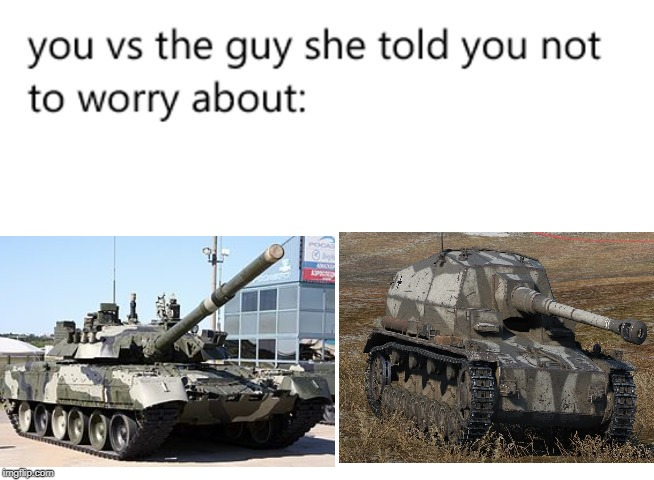 "T-80 vs ""Dicker Max"" 
