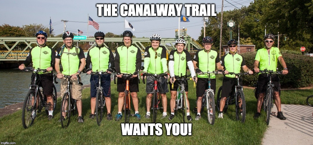 THE CANALWAY TRAIL WANTS YOU! | made w/ Imgflip meme maker