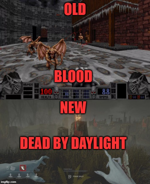 Image tagged in blood,dead,horror,video games - Imgflip