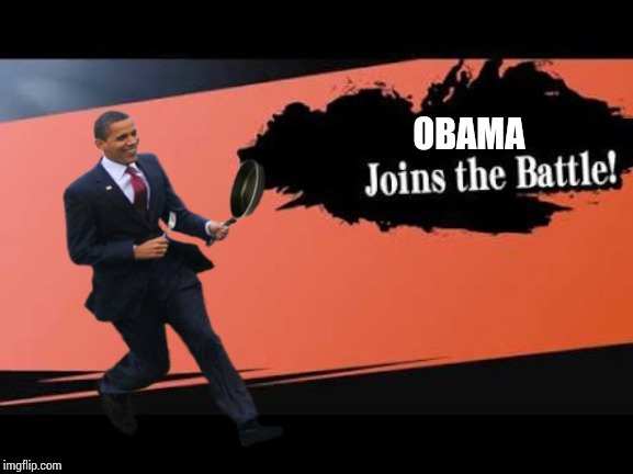 Super Smash Bros | OBAMA | image tagged in super smash bros | made w/ Imgflip meme maker
