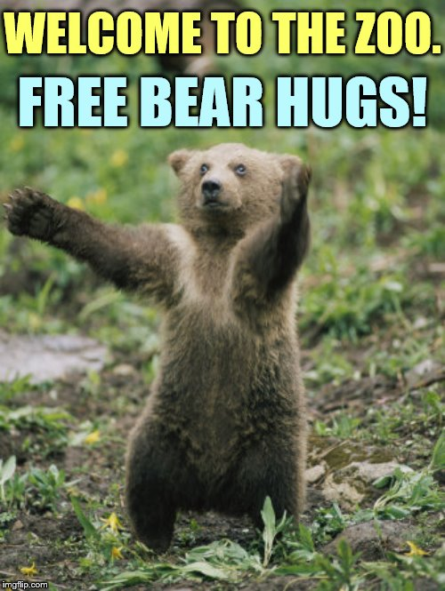 Yay!!! It's Finally Here! Zoo Week May 12-18 a Dankmaster546 and 1forpeace Event | WELCOME TO THE ZOO. FREE BEAR HUGS! | image tagged in memes,welcome to imgflip,zoo week,have fun,free,bear hugs | made w/ Imgflip meme maker