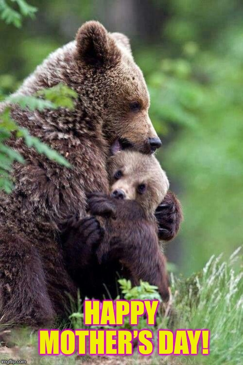 Unbearable Love | HAPPY MOTHER'S DAY! | image tagged in happy mother's day | made w/ Imgflip meme maker