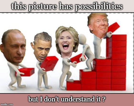 where is the original ? red bricks ? | this picture has possibilities but I don't understand it ? | image tagged in kgb thug,the russians did it,killary,trump,meme | made w/ Imgflip meme maker