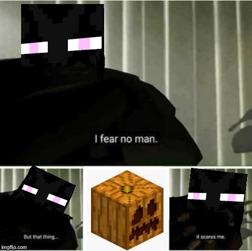 I Fear No Man. | image tagged in i fear no man | made w/ Imgflip meme maker