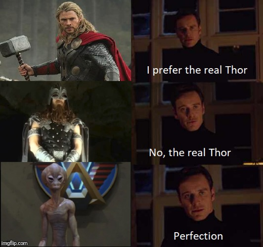 The Supreme Commander aproves this meme | . | image tagged in thor,real thor,stargate | made w/ Imgflip meme maker