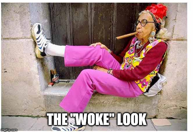 "lady | THE ""WOKE"" LOOK 