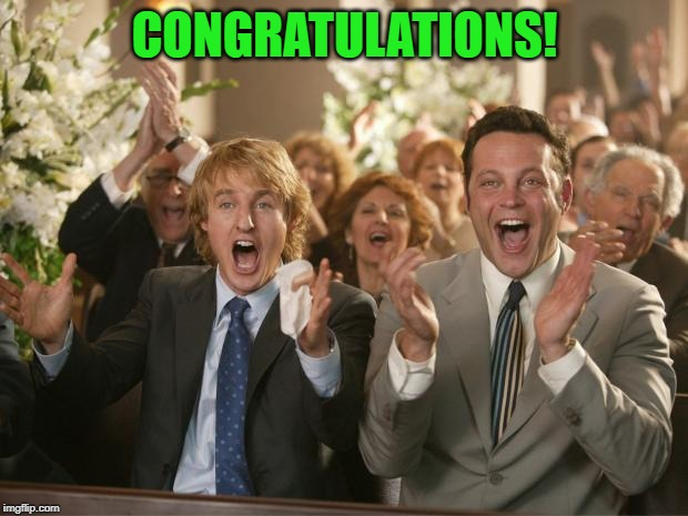 congratulation | CONGRATULATIONS! | image tagged in congratulation | made w/ Imgflip meme maker
