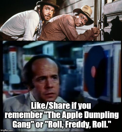"Tim Conway | Like/Share if you remember ""The Apple Dumpling Gang"" or ""Roll, Freddy, Roll."" 