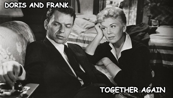 Move Over Darling I'm Home... | DORIS AND FRANK TOGETHER AGAIN | image tagged in doris,frank | made w/ Imgflip meme maker