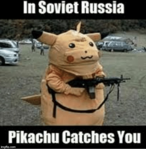 image tagged in soviet russia style | made w/ Imgflip meme maker