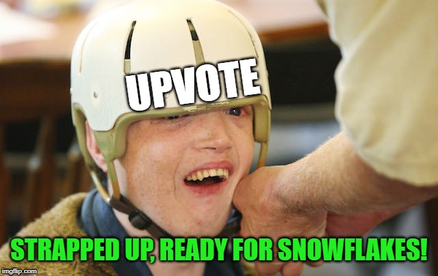 STRAPPED UP, READY FOR SNOWFLAKES! | made w/ Imgflip meme maker