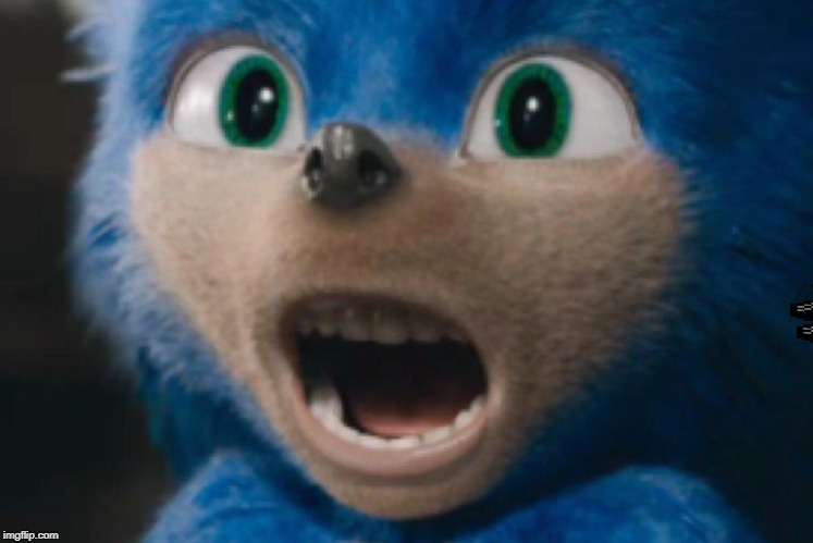 Sonic Nightmare | image tagged in sonic nightmare | made w/ Imgflip meme maker