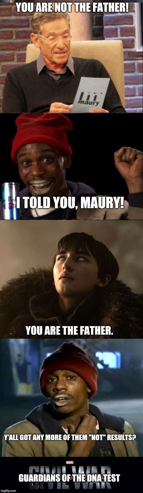 "Y'all got any more of them ""not"" results? 
