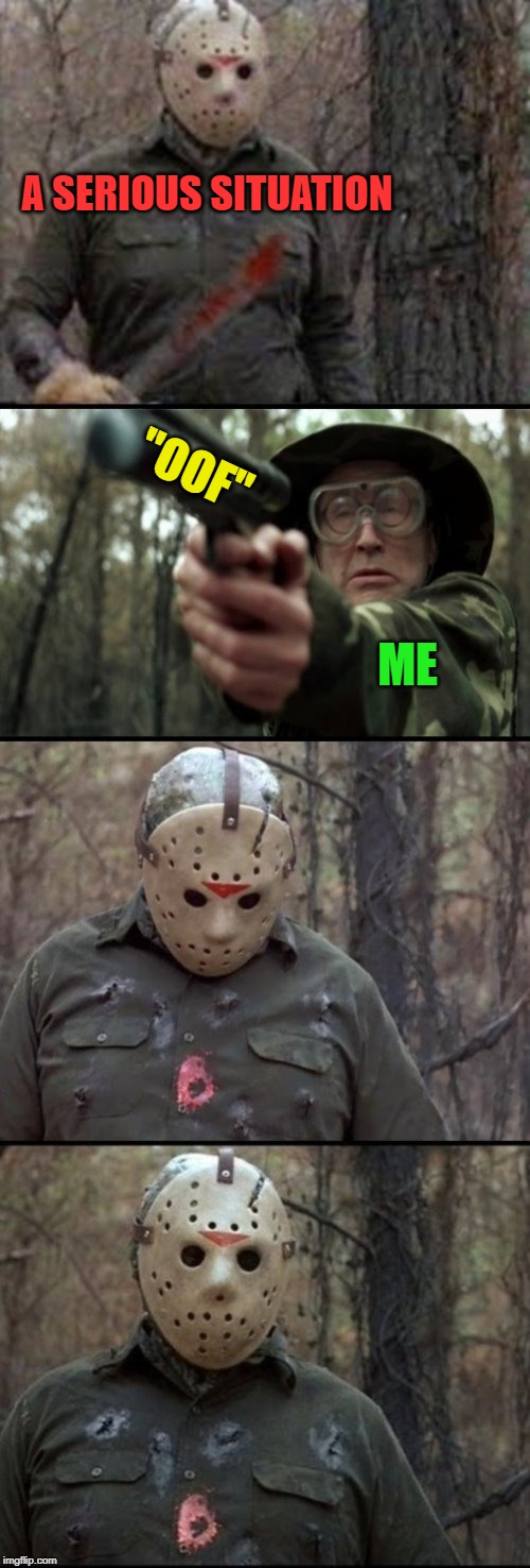 "Oof! | A SERIOUS SITUATION ""OOF"" ME 