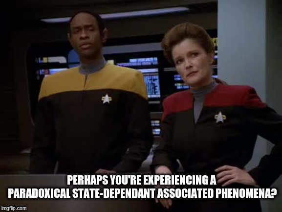 """Deja Vu"" to a Vulcan 