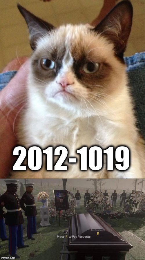 2012-1019 | image tagged in memes,grumpy cat | made w/ Imgflip meme maker