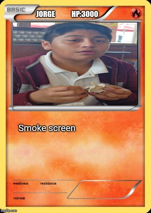 Blank Pokemon Card - Imgflip