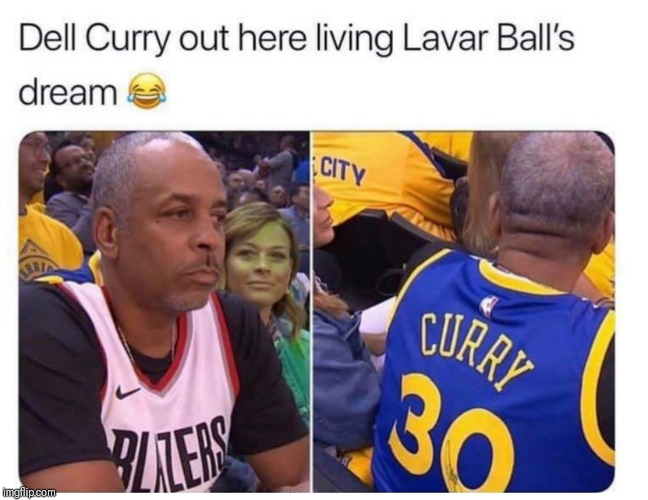 Daddy Daycare | image tagged in stephen curry,seth curry,dell curry,nba memes,how the west was won | made w/ Imgflip meme maker