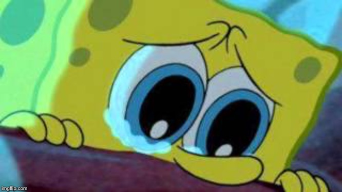 Sad SpongeBob  | image tagged in sad spongebob | made w/ Imgflip meme maker