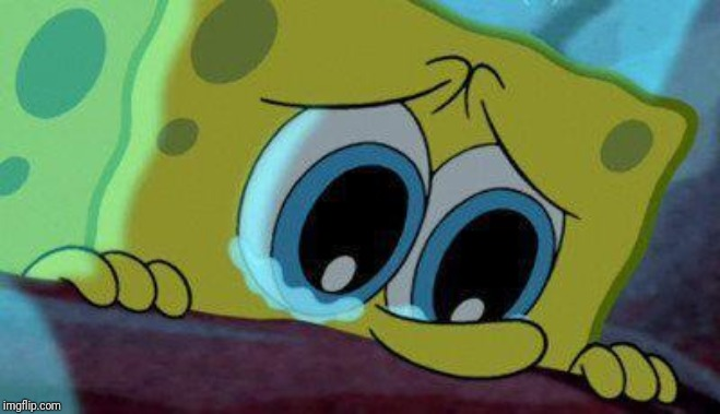 crying spongebob | image tagged in crying spongebob | made w/ Imgflip meme maker