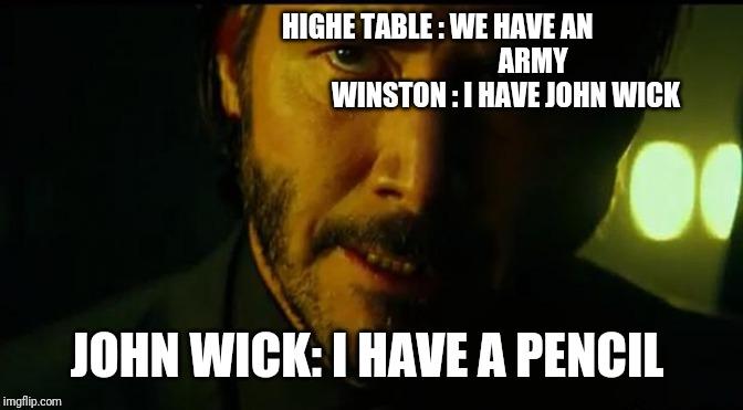 John Wick Imgflip
