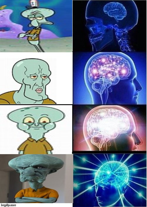 """Squidwards Evolution In Quality"" Squidward Week May 19th-25th a Sahara-jj and EGOS event 