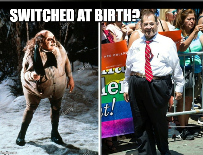 Both have many similarities, but sadly Jerry Nadler isn't ...