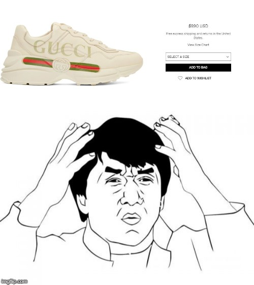 My first car cost more | image tagged in memes,jackie chan wtf,fun,sneakers | made w/ Imgflip meme maker