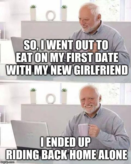 "She ditched me for a guy with a Lambo then said ""I never liked you in the first place"". 