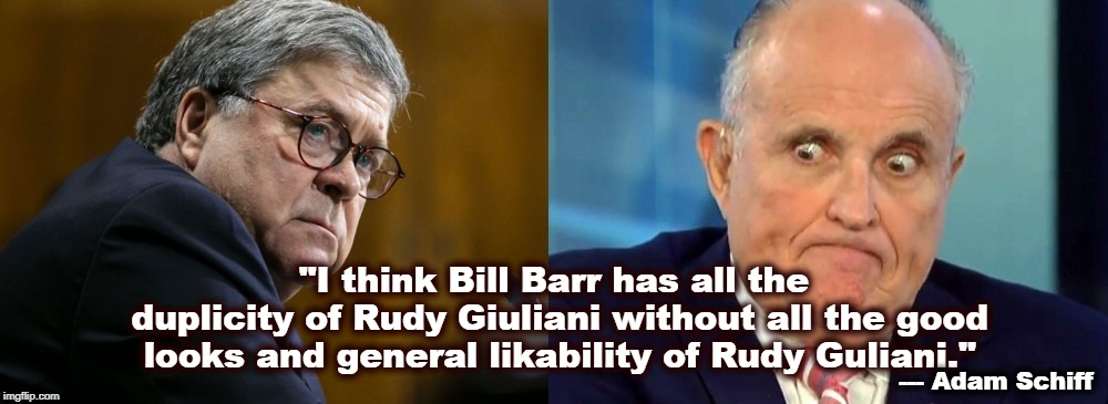 Image result for photos GIULIANI AND BARR
