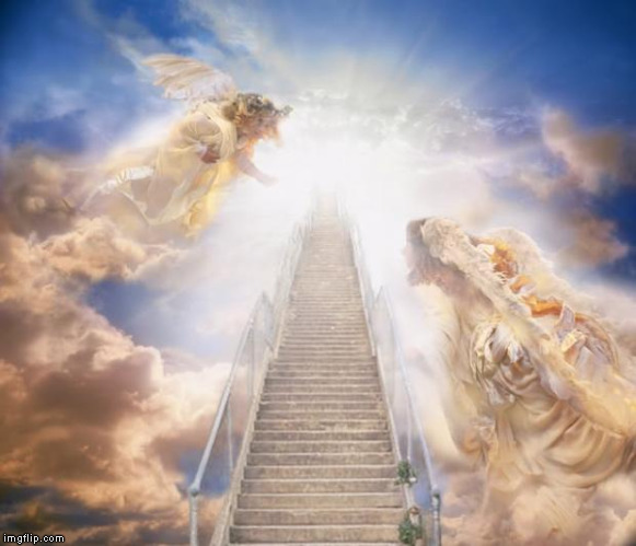 stairs to heaven | image tagged in stairs to heaven | made w/ Imgflip meme maker