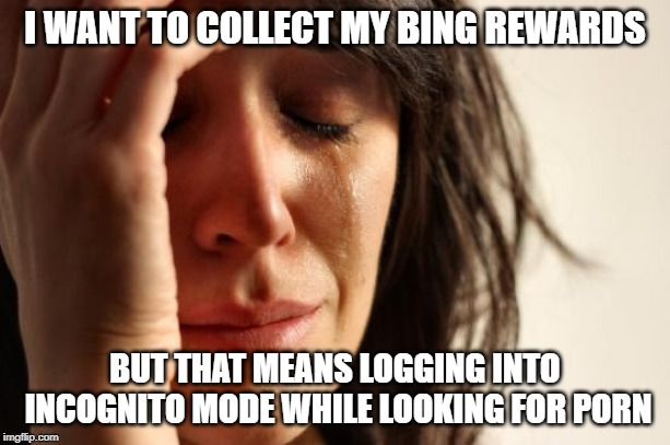 First world problem indeed