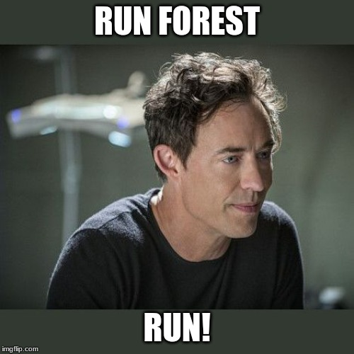 The Flash | RUN FOREST RUN! | image tagged in the flash | made w/ Imgflip meme maker