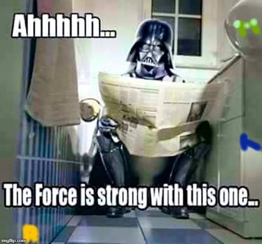 Darth Shitter | image tagged in darth shitter | made w/ Imgflip meme maker