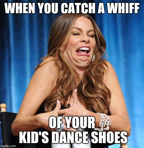 eww | WHEN YOU CATCH A WHIFF OF YOUR KID'S DANCE SHOES | image tagged in eww | made w/ Imgflip meme maker
