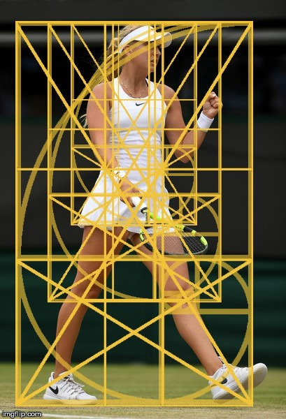 Anastasia Potapova with the Golden Ratio. | image tagged in the golden ratio,anastasia potapova,the human body,geometry | made w/ Imgflip meme maker