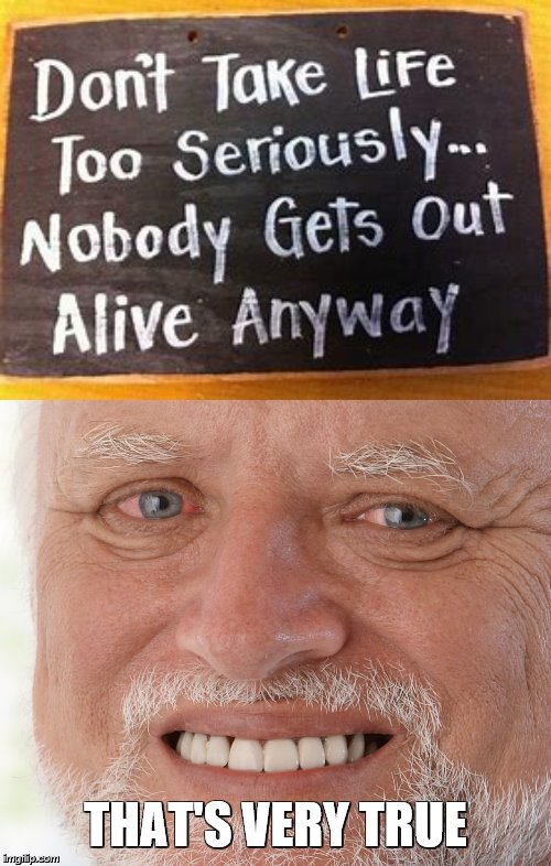 life is a simple mystery and it can get complicated! | THAT'S VERY TRUE | image tagged in hide the pain harold,my life is a lie,its a trap,stupid signs | made w/ Imgflip meme maker
