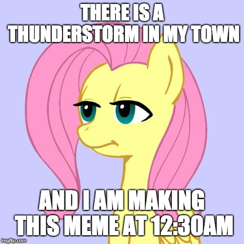 And you have seen this meme just pop up! | THERE IS A THUNDERSTORM IN MY TOWN AND I AM MAKING THIS MEME AT 12:30AM | image tagged in tired of your crap,memes,random,dumb,time,thunderstorm | made w/ Imgflip meme maker