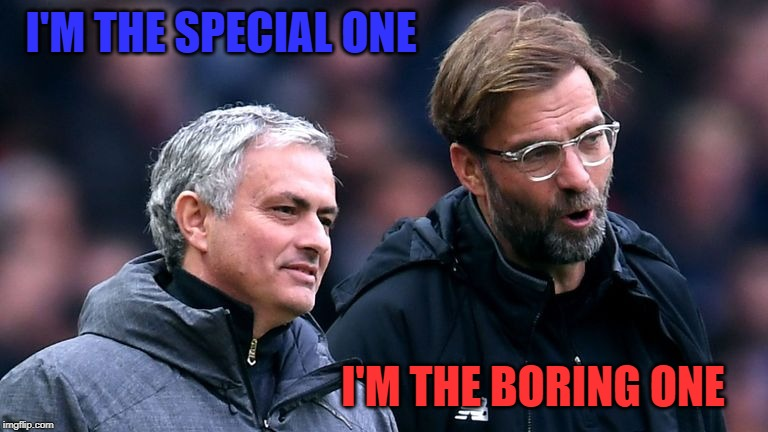 I'M THE SPECIAL ONE I'M THE BORING ONE | made w/ Imgflip meme maker