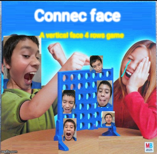 Connec face | Connec face A vertical face 4 rows game | image tagged in blank connect four,connect four meme | made w/ Imgflip meme maker