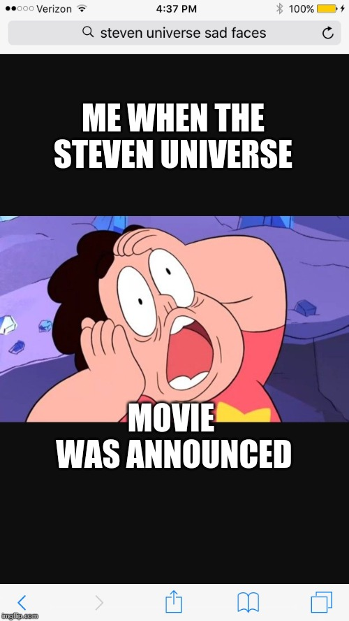 Steven Universe Wtf Expression Imgflip