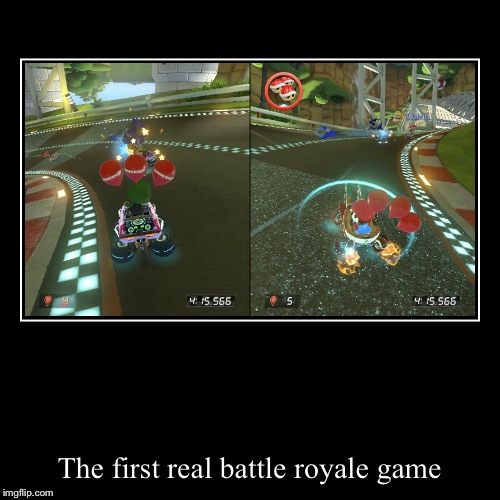 The first real battle royale game | image tagged in funny,demotivationals | made w/ Imgflip demotivational maker