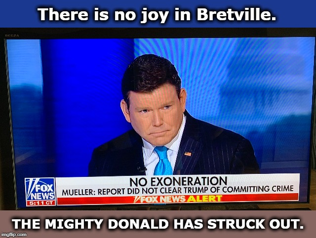 When even Fox News Channel admits there was no exoneration