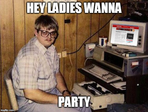 Internet Guide |  HEY LADIES WANNA; PARTY | image tagged in memes,internet guide | made w/ Imgflip meme maker