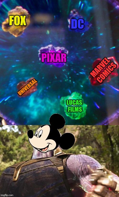 Thanos Infinity Stones - Imgflip