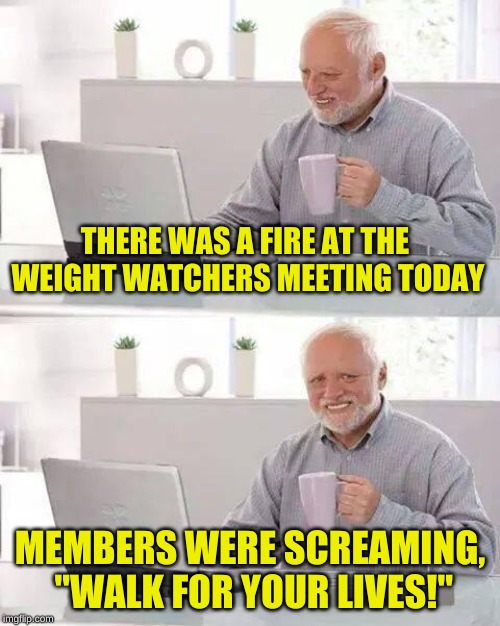 "Some people just aren't in ""running"" shape 