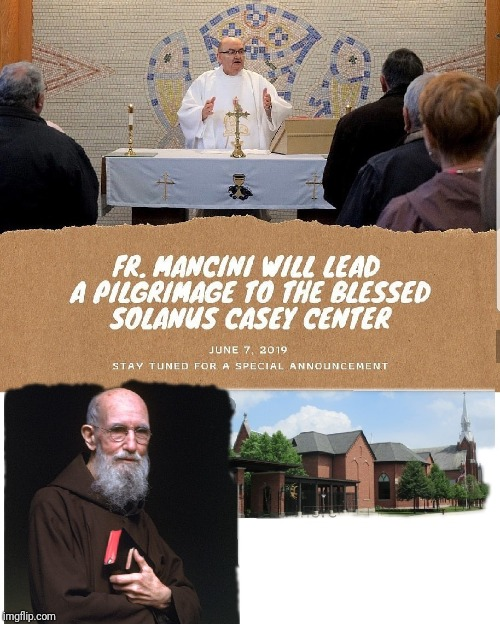A Pilgrimage | image tagged in catholic,god,pilgrims,blessed,men and women,beards | made w/ Imgflip meme maker