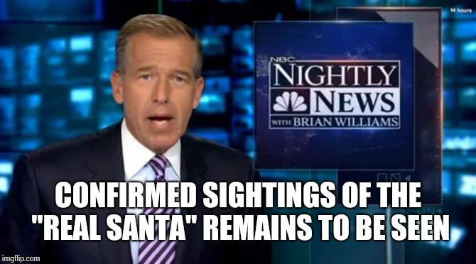 "New Jersey | CONFIRMED SIGHTINGS OF THE ""REAL SANTA"" REMAINS TO BE SEEN 